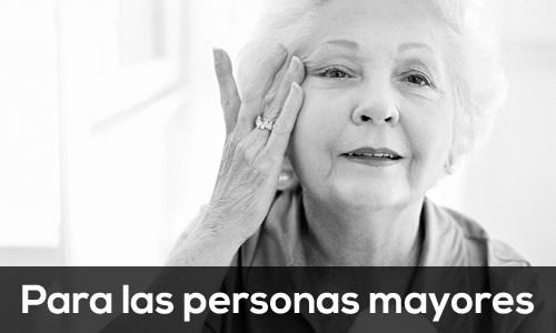 Para las personas mayores