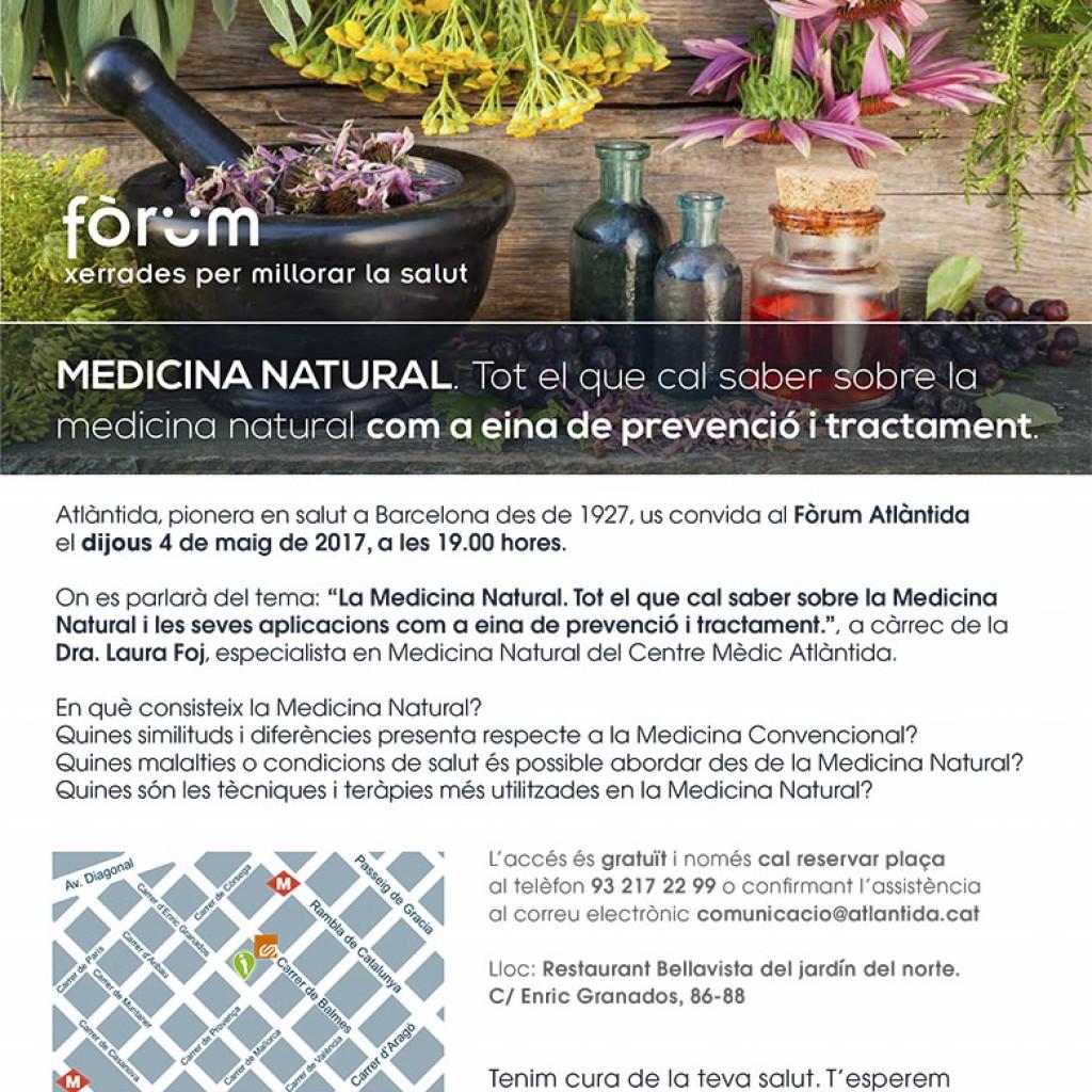 Fòrum Atlàntida 'La Medicina Natural'