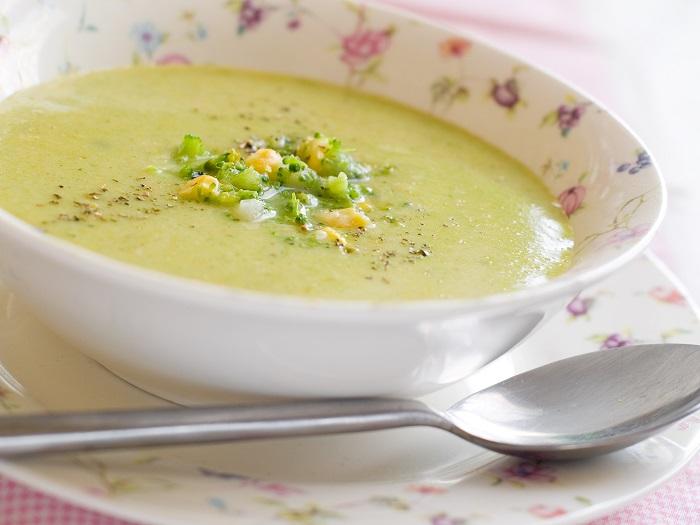 sopa de la dieta vegana depurativa