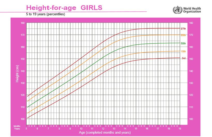 percentils i corbes creixement nenes 5-19