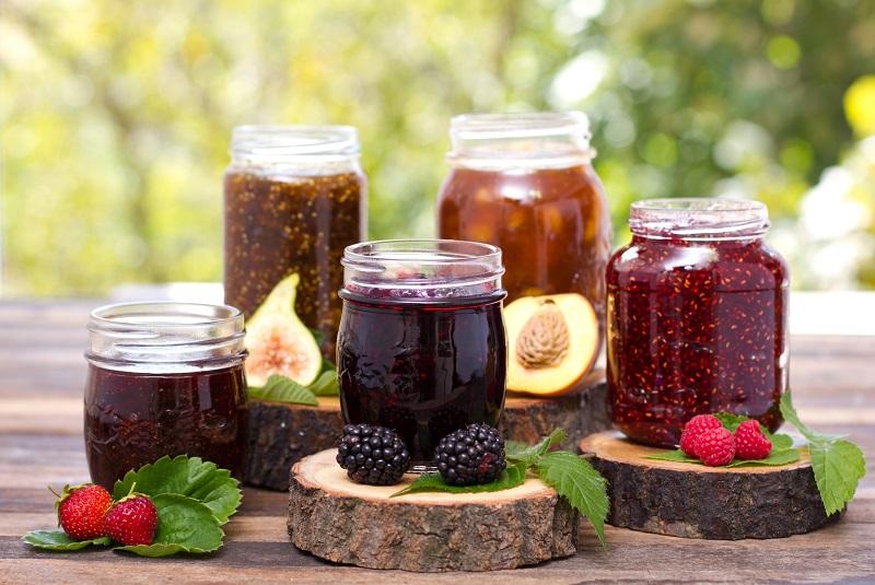 confitures de fruites