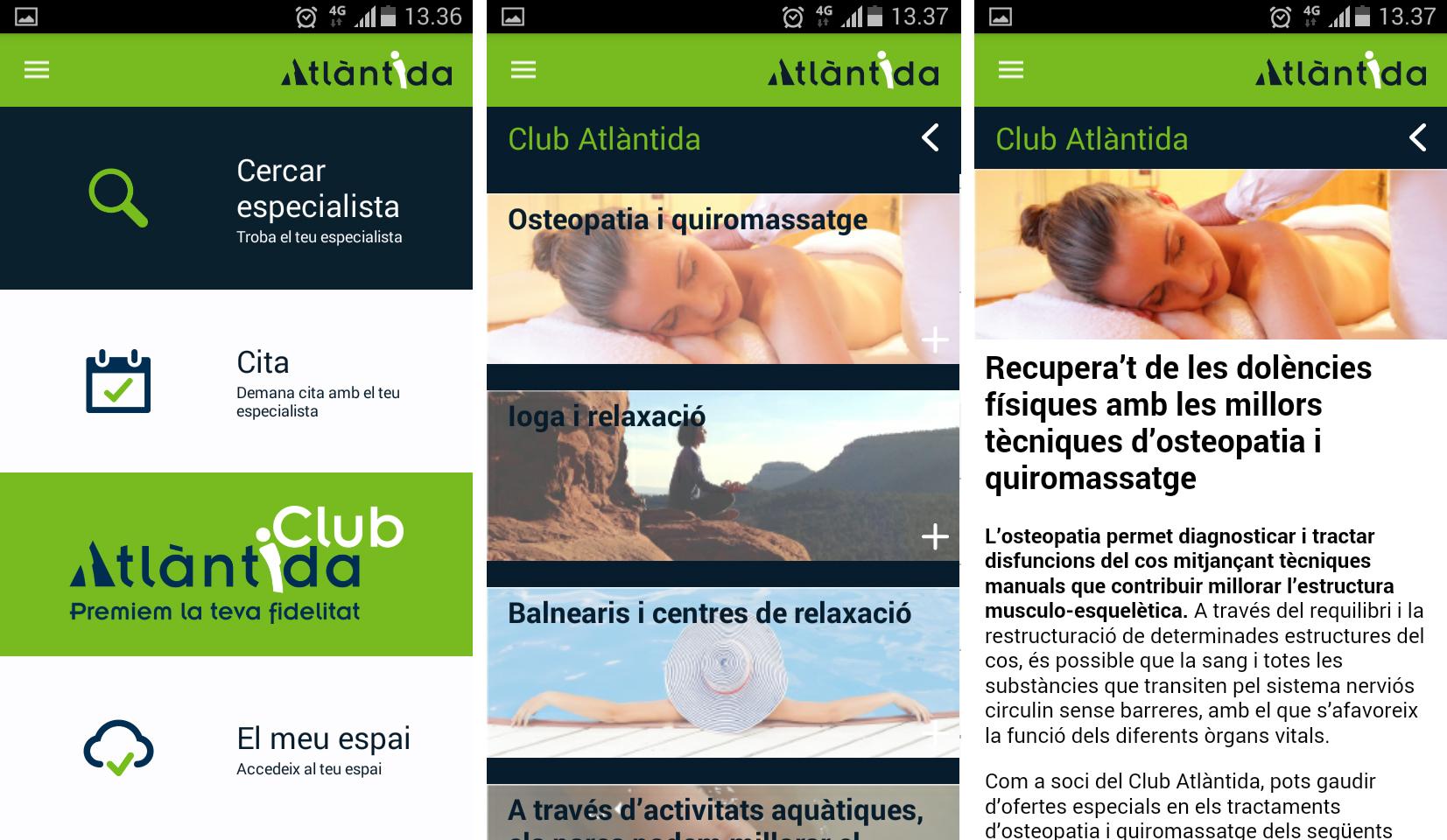 App Atlàntida Mèdica_Club Atlàntida