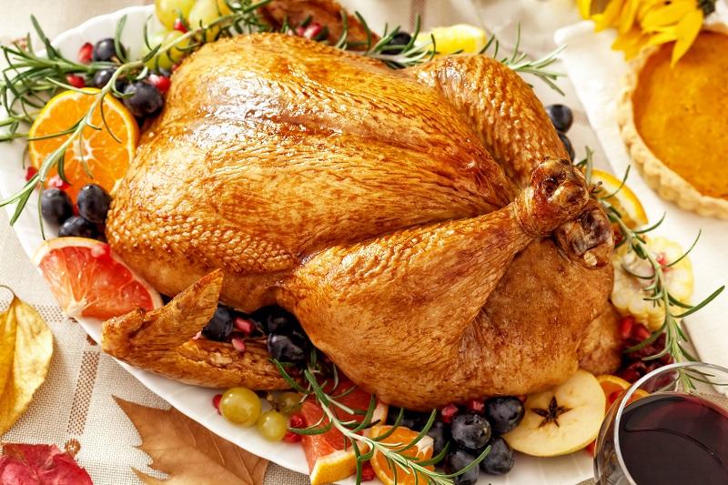 pollastre rostit amb fruites d'hivern_receptes nadal