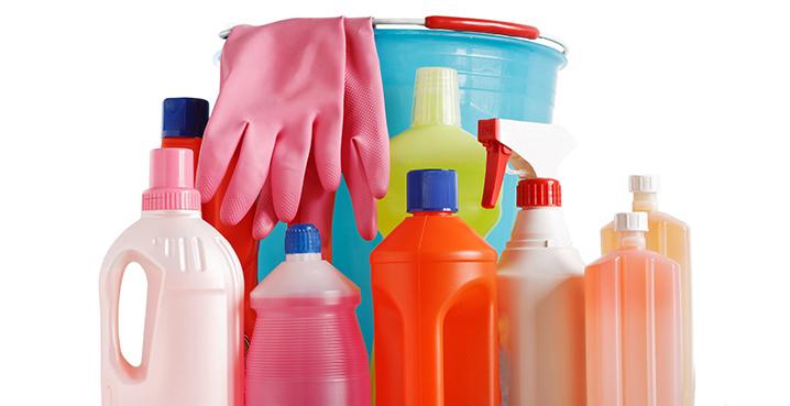 Efectes dels productes químics per a la neteja