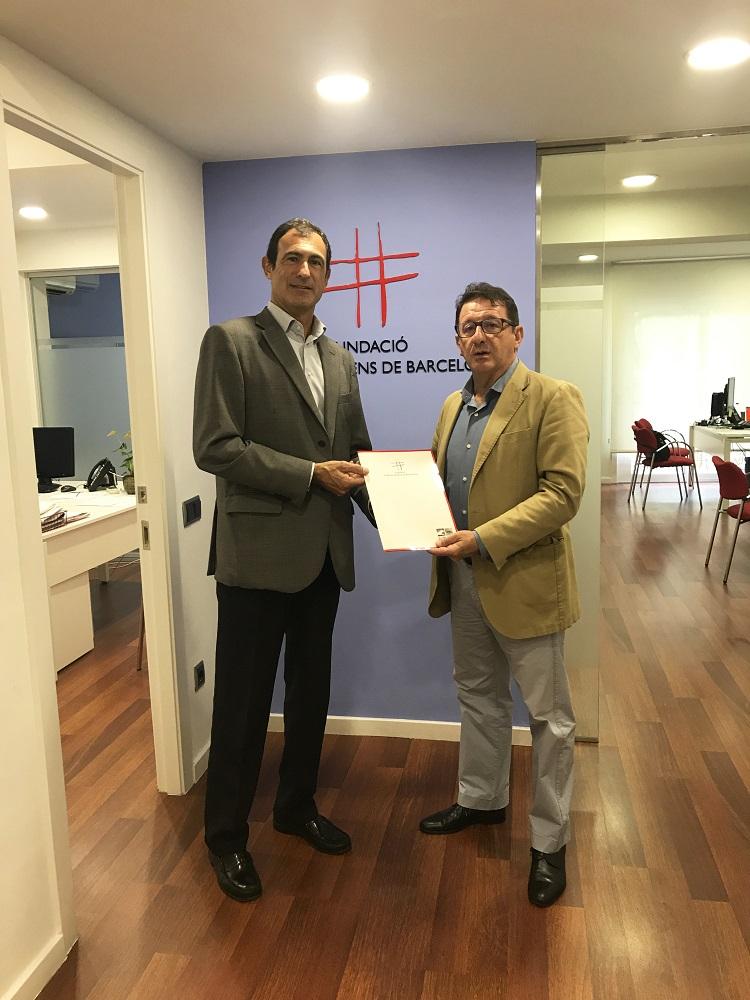 acord de col·laboració amb la Fundació Hospital de Nens