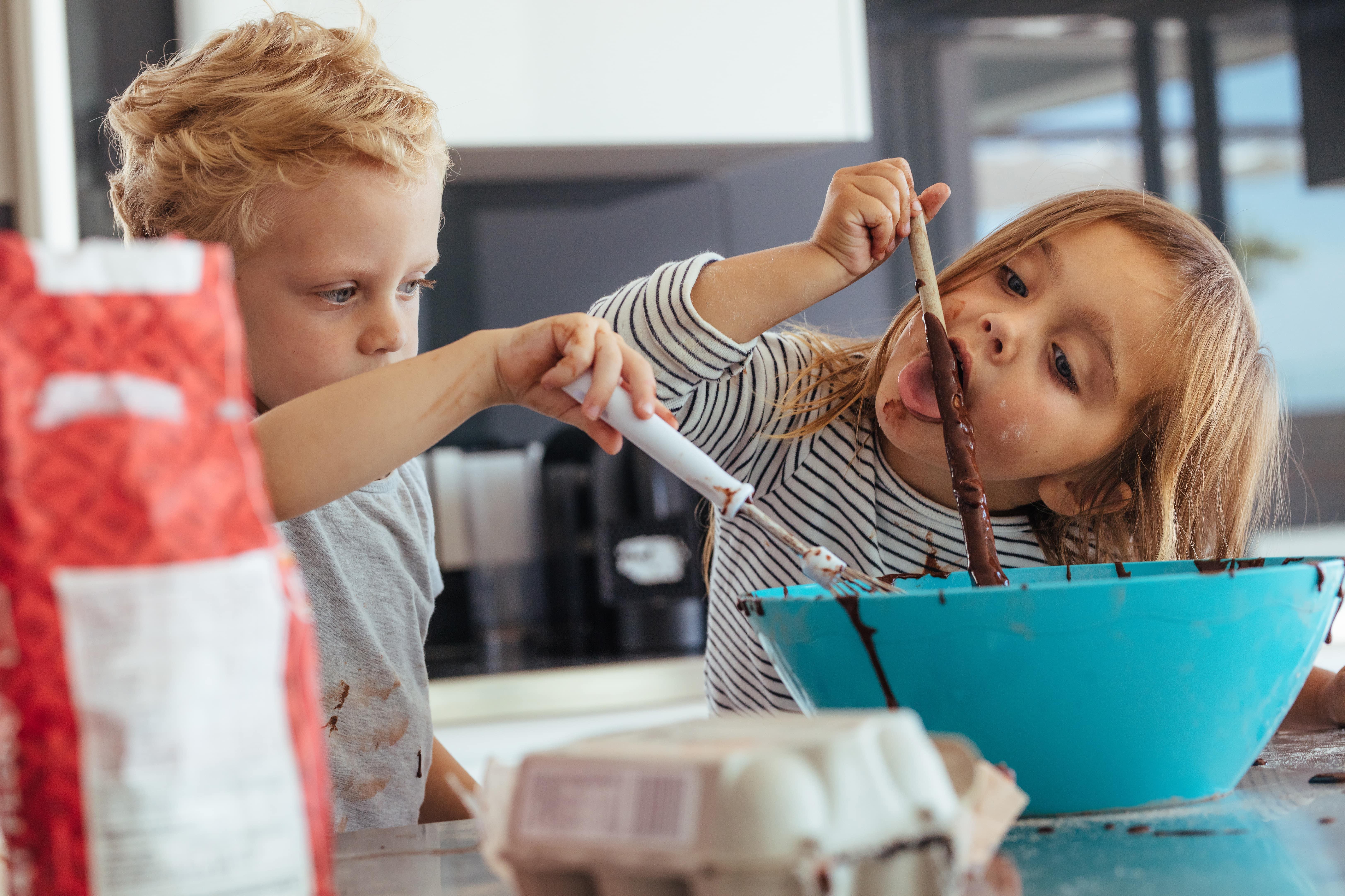 Recetas de chocolate saludables para niños-min