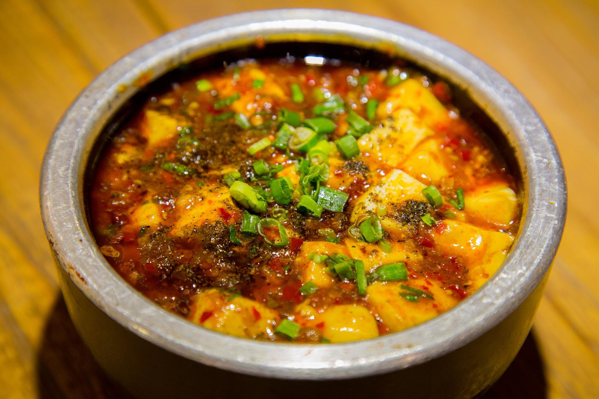 sopa de soja